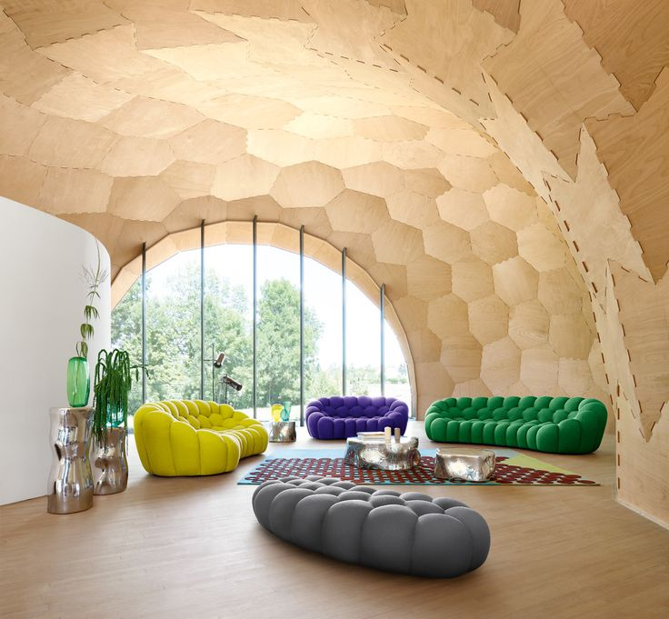 Roche Bobois | Bubble sofa, designed by Sacha Lakic | Autumn-Winter 2017/18 Collection