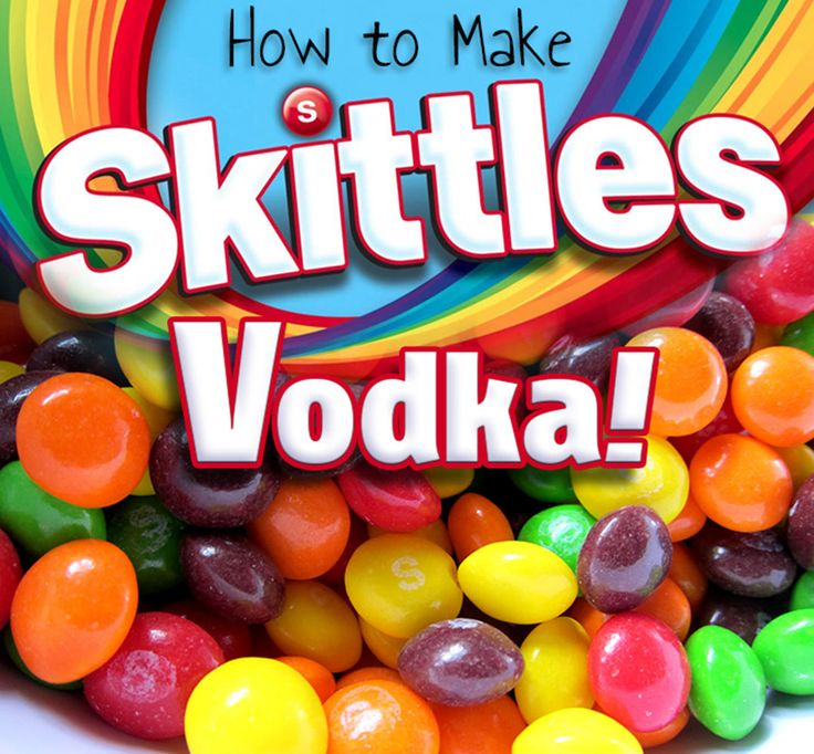 SKITTLES INFUSED VODKA - Easy to make! See full instructions and photos inside! This is one of the best flavored vodkas you'll ever try.