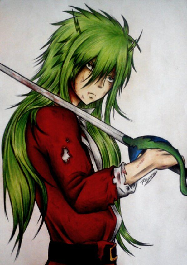 Freed *_* by Reyos-Cheney.deviantart.com on @deviantART - After a tough fight... I wish I could take you in my arms!