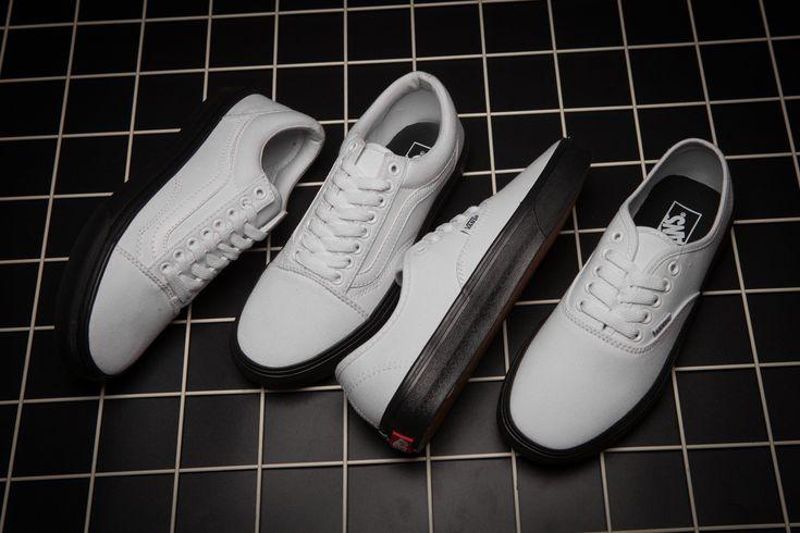 2017 Vans Skate Shoes Black White [Vans11] - $43.94 : Vans Shop, Vans Shop in California