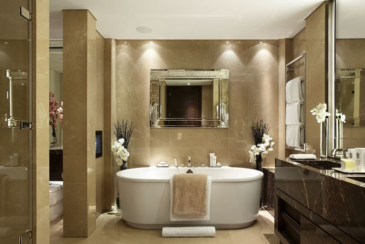 One Hyde Park by Bathrooms International. Designed by Candy & Candy