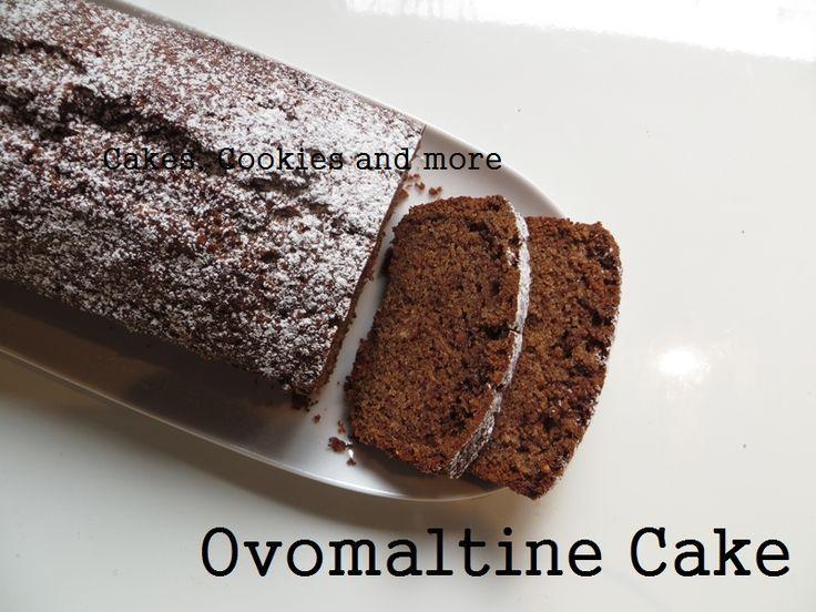 Rezept für Ovomaltine Cake mit Haselnüssen