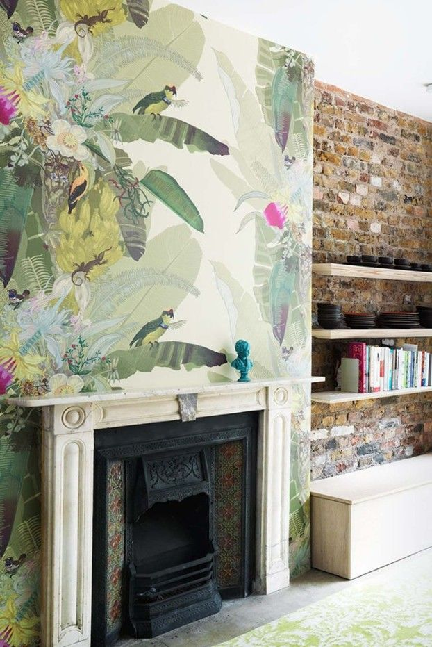 5 Tips for Decorating With Feature Wallpaper by Sophie Robinson