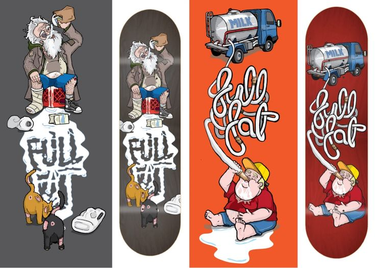 Full Fat Board Graphics