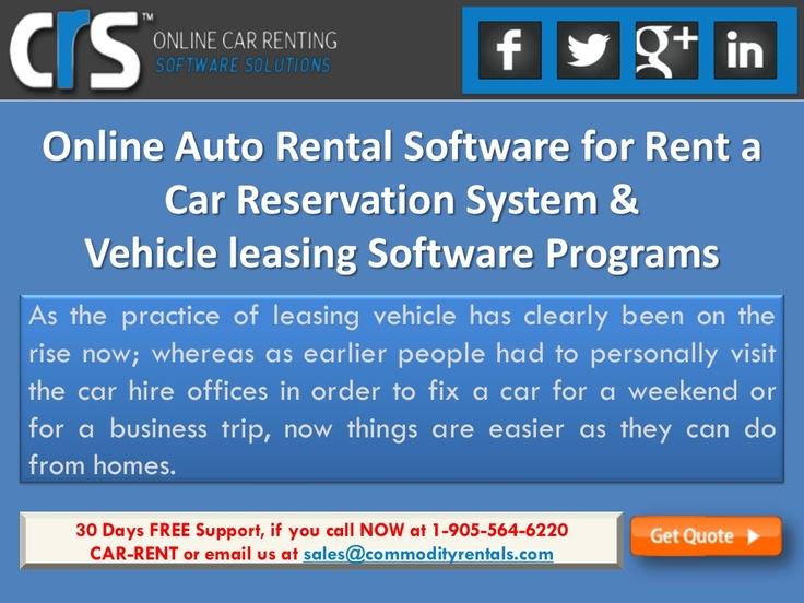18 Best Car Rental Software Programs Images On Pinterest Car