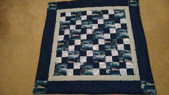 Baby Quilt 5 Inch Blocks Dallas Cowboy Quilt Ideas