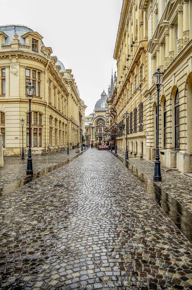Old City, Bucharest,  Romania