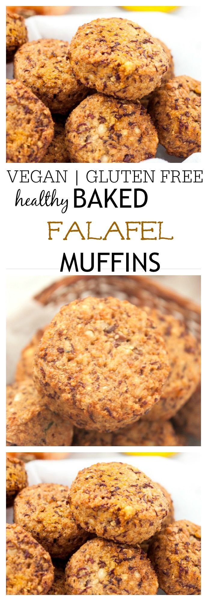 Healthy Baked Falafel Muffins - thebigmansworld.com