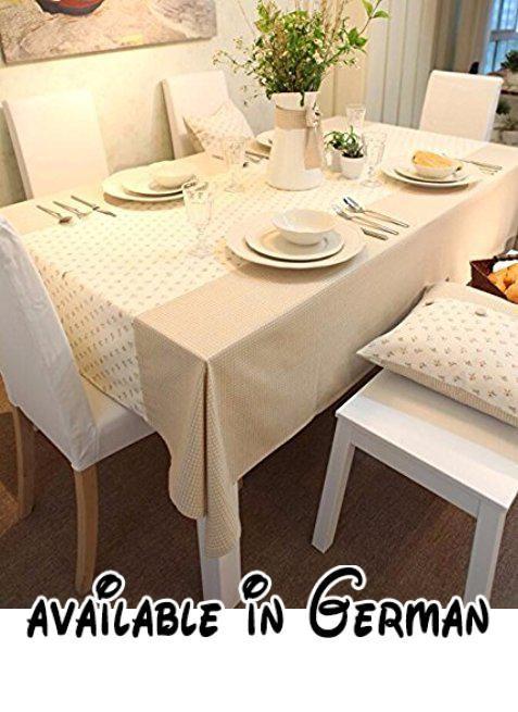 B0779nschk Syhome Tischdecke Tischtuch Moderne Einfachheit