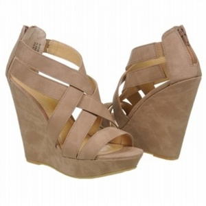 SALE - Chinese Laundry Major Crush Wedge Heels Womens Taupe - $63.2 ONLY. Was $79.00 - You SAVE $16.00.