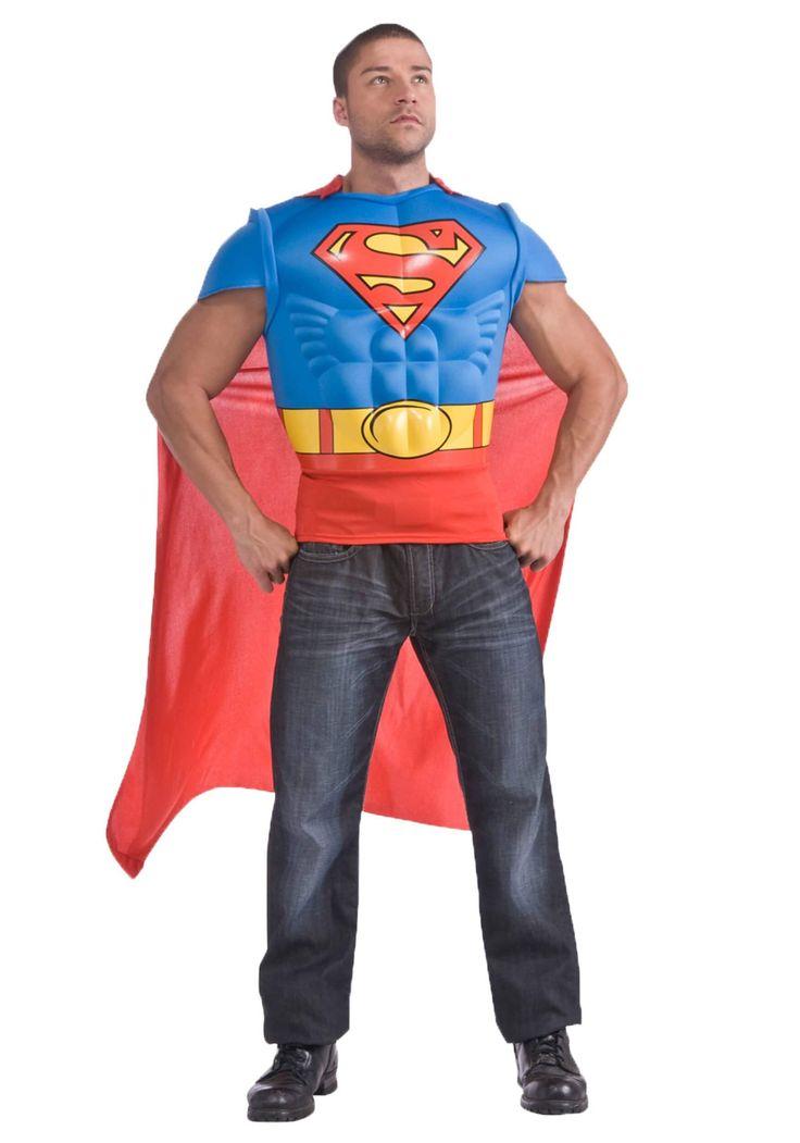 Superman musculoso para hombre