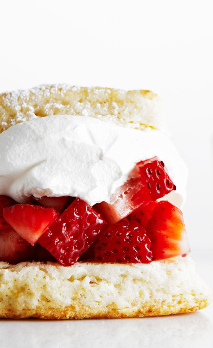 Sky High Strawberry Shortcakes recipe #BiteMeMore