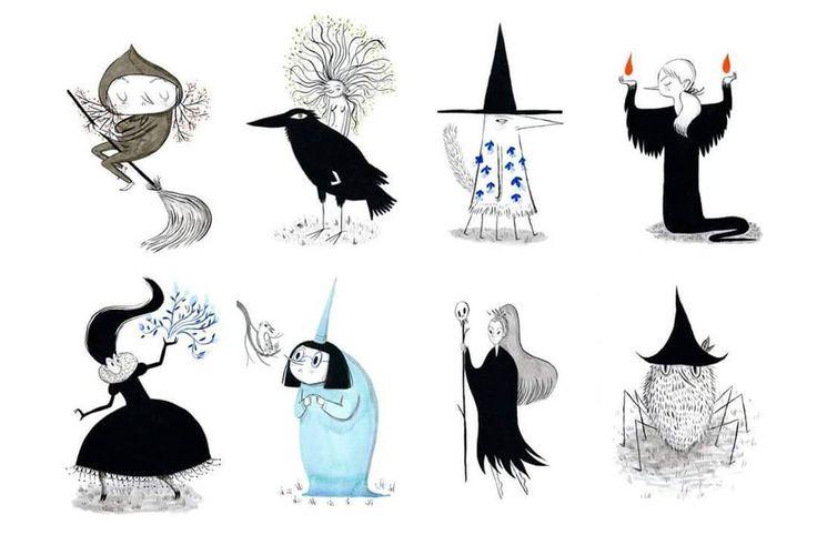 He subido una última tanda de brujas a la tienda online:  http://anasender.tictail.com (enlace directo en mi perfil)  Y con esto se acabó. Chispún