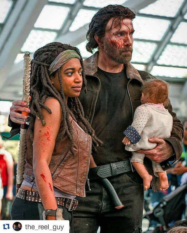 This Rick And Michonne 'Walking Dead' Couple Cosplay Is Crazy Good