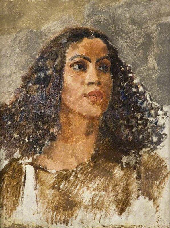 Augustus Edwin John - A West Indian Girl