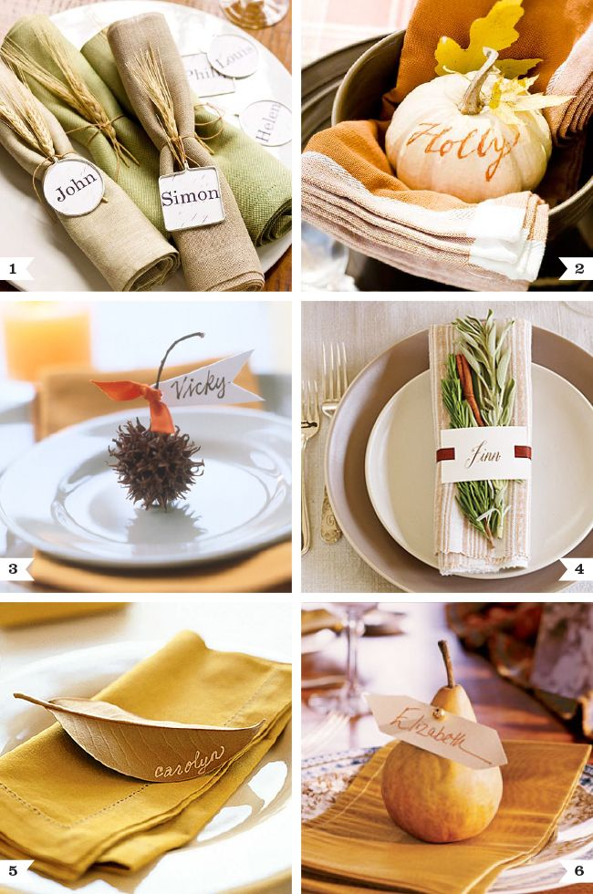 Beautiful natural place settings for Thanksgiving & 101 best Harvest Table images on Pinterest | Thanksgiving ...