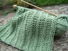 Laura's Blog Entry One thing I like to knit, when I am tired and everything else seems too complicated, is washcloths. Mari uses them to wash her face each morning, so they are useful. Many pattern...