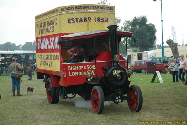 #OurHistoricVehicles #BishopsMove #Foden #SteamFair #2011