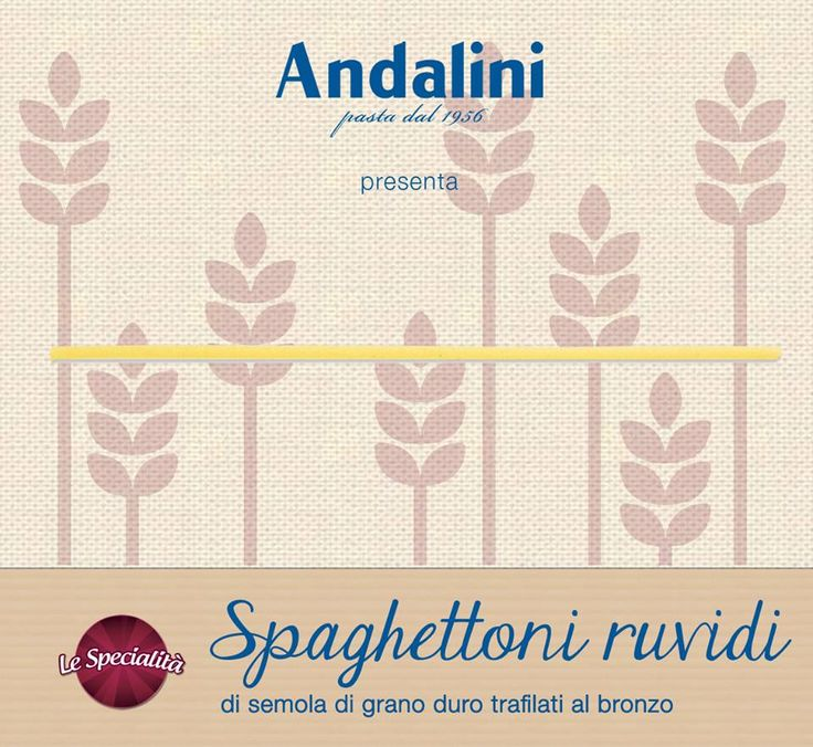 Se si pensa pasta, si dice spaghetti! 🍝 Ecco i nostri spaghettoni della linea #LeSpecialità, ruvidi e appetitosi.  Con quale sugo goloso li condireste? :P  http://goo.gl/t24nlm