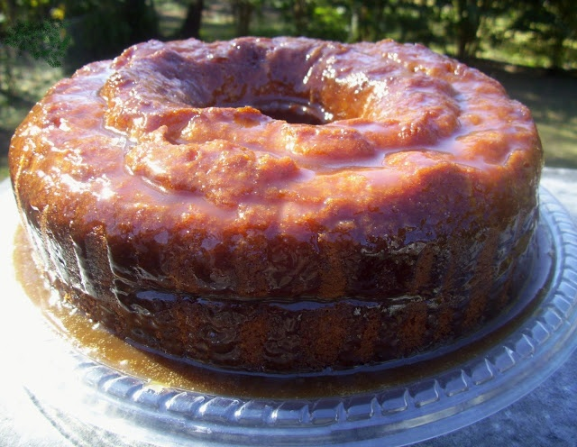 (Spiced Rum Cake