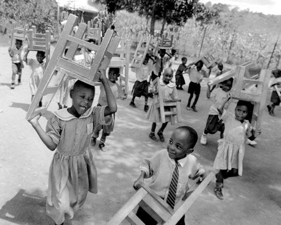 Primary school, Nr. Kampala, Uganda
