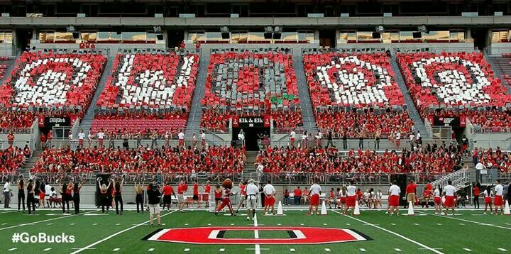 O-H-I-O in Ohio Stadium 2014