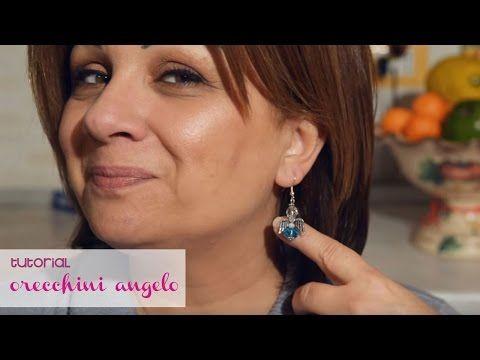 Tutorial #1 Orecchini angelo - YouTube