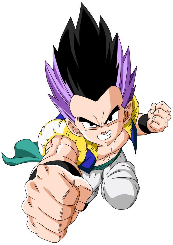 Super Saiyajin - Dragon Ball Wiki, Gotenks Base.png