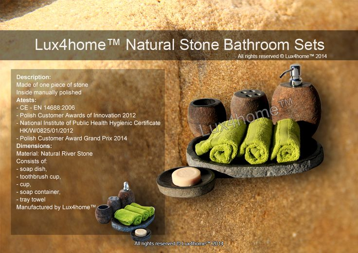 Real Stone Bathroom Sets...