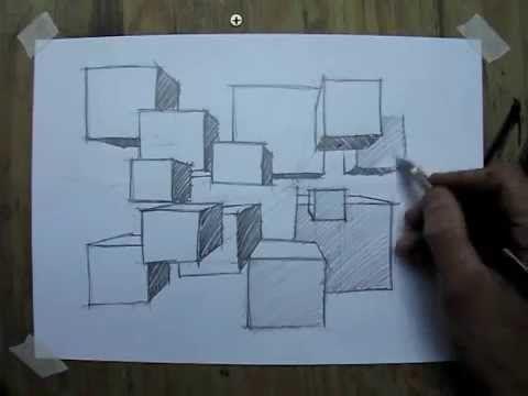 Desenho e Pintura - Desenhando perspectiva