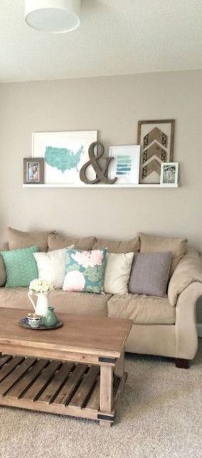 Trendy living room art above couch coffee tables 5…