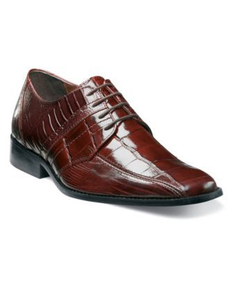 Stacy Adams Shoes, Pietro Bike Toe Lace Up Oxfords - Mens Lace-Ups & Oxfords - Macy's