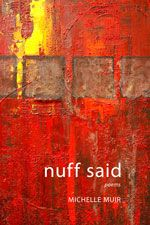 It's #BlackHistoryMonth and to celebrate, we've put some of our books on sale. Get Michelle Muir's Nuff Said for 25% off the cover price until the end of February. #poetry #sale