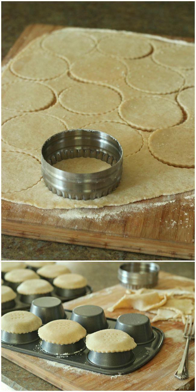 Mini Tart Shells by BakingAMoment.com