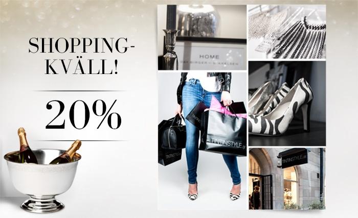 Shopping tonight!!
