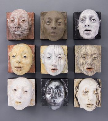 Melisa Cadell is interested in the figure and the spiritual being that is represented by it. Melisa works primarily in clay using the human form as an expression of the spiritual being that dwells within it. Her ceramic figures represent people who are changed through life experiences - their struggles, joys and journeys.