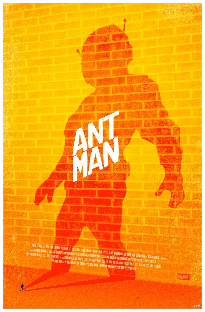 Cool Stuff: Poster Posse Ant-Man Artwork Tribute  -  #ant-man #antman #kurttasche