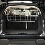 Halfords Mesh Headrest Dog Guard - I plan to spray paint it cream to match the car interior