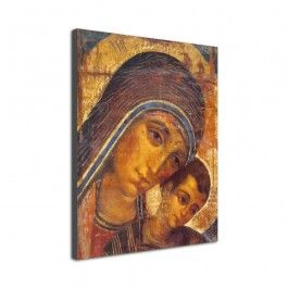 Icono 'Virgen del Camino' (Madera)