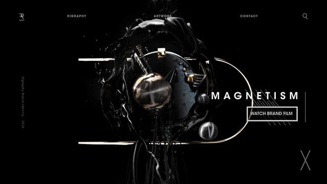Rigraphy Brand Identity Film : MAGNETISM    Directed / Designed / Animated  by Rima Yoon   Music LEVEL by Trespur CAT WEARING GLASSED by Lee Rosevere  SLEEPLESS by Pan Pot