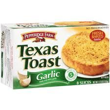 New $.50/1 Pepperidge Farm Texas Toast Printable Coupon (Often on sale 50% off at Publix!)