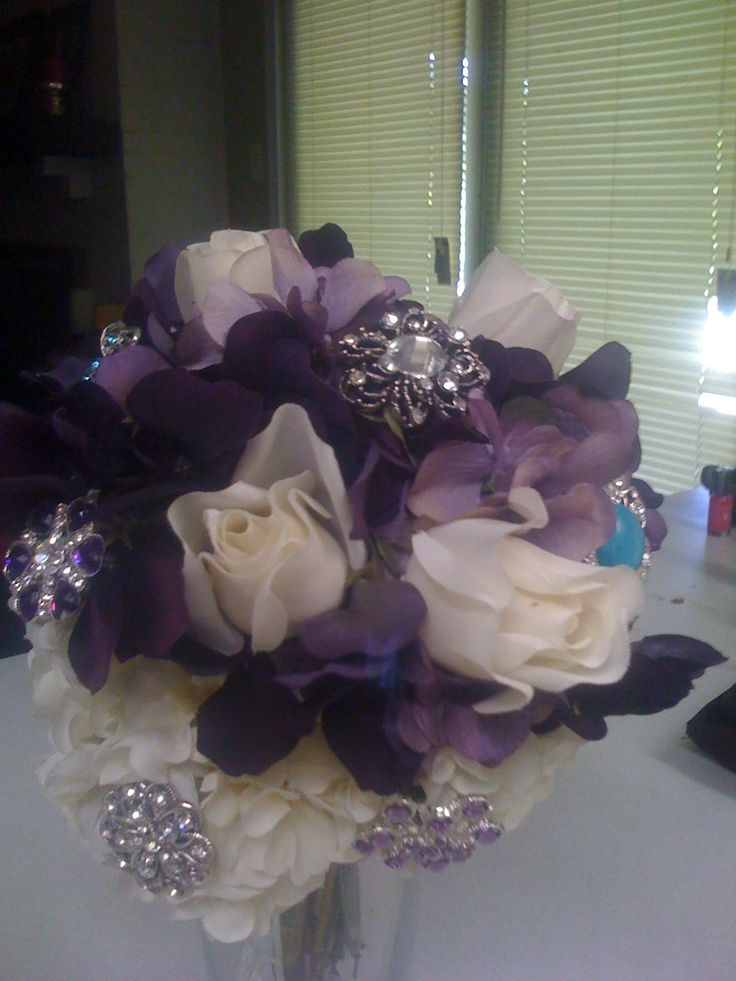 Affordable Wedding Flowers Dallas Tx : Images about brooch bouquet stuff on