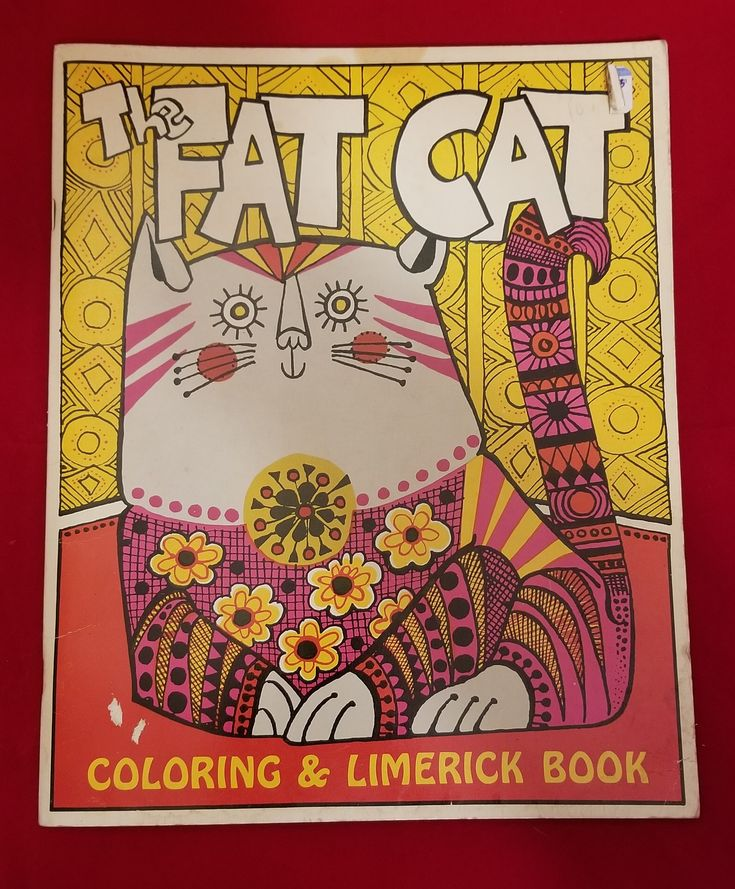 The Fat Cat Coloring and Limerick Book by Mal Whyte and Donna Sloan. First edition of the first book of the Press.  RARE.  Co- founder of the Cartoon Art Museum in San Francisco, the author, editor, and publisher Malcolm Whyte produced nearly 200 books. He founded the Troubador Press in 1959 as a job printer and released his first published book  The Fat Cat Coloring & Limerick Book , illustrated by Donna Sloan, in 1967. By 1970, Troubador became a full-time book publisher, producing…