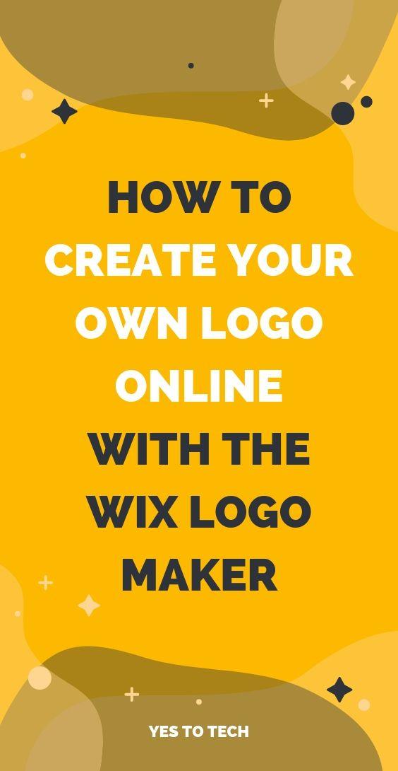 wix logo maker how