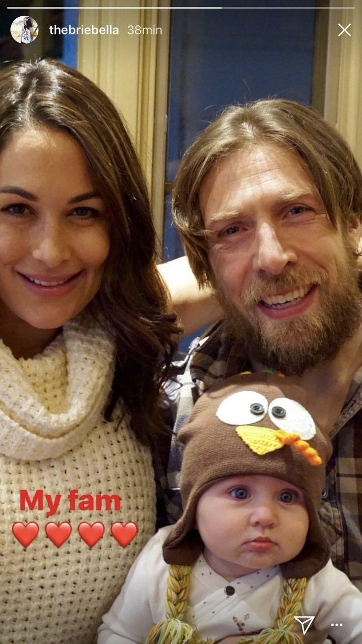 Birdie Joe Danielson, Mommy Brie Bella, Daddy Daniel Bryan