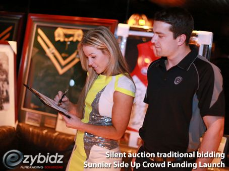 Ezybidz traditional silent auction 6 Reasons Why You Should Run A Silent Auction At Your Charity Fundraising Event