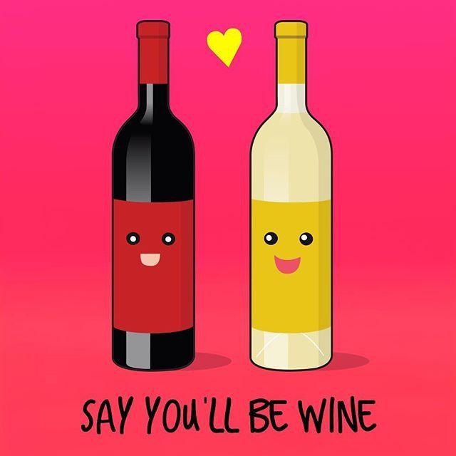 Find your true love wherever it may be :wine_glass::wine_glass:#wine #winetime #winelover . . . #pun #puns #punny #funny #punpunpun #instagood #instafunny #instafun #punsworld #ingoodpun #punsfordays #punsforyou #lol #dadjokes #design #designoftheday #vec