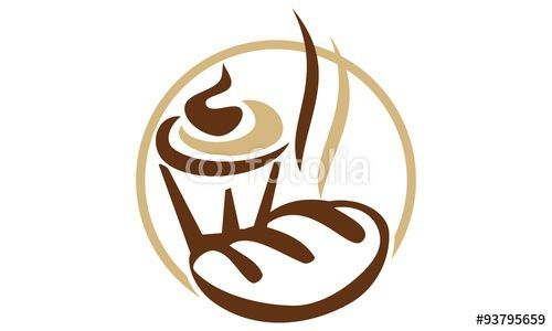 Drink And Food Cafe  Buy this logo template now only at the lowest price!!! #Vector #logo #Template #LogoCheapestPrice #icon #Fotolia