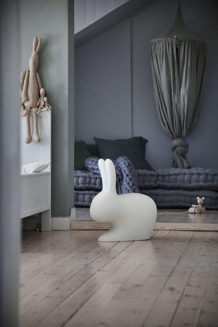 Kid's room inspiration | Maileg soft bunnies available at www.istome.co.uk