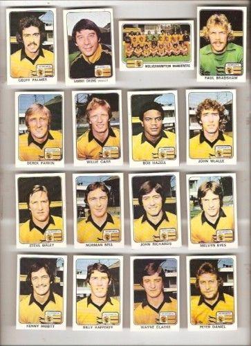 Panini 1979 football stickers